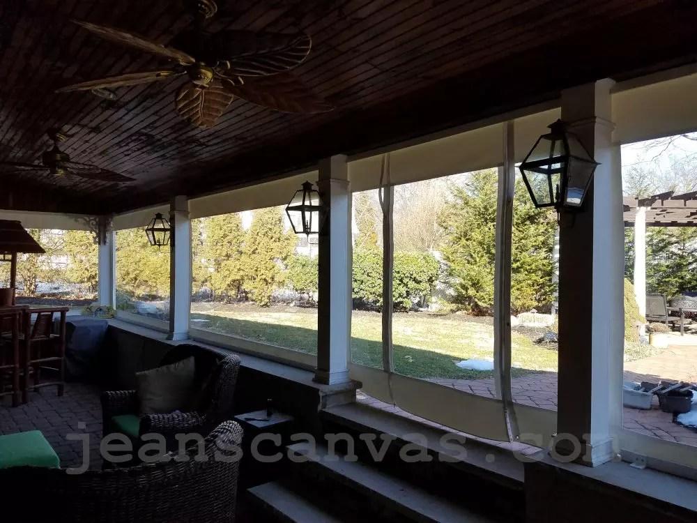 custom enclosures for your deck porch