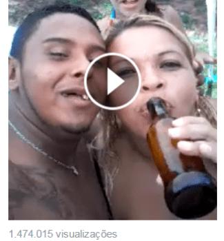 O vídeo se tornou a nova sensação da internet.