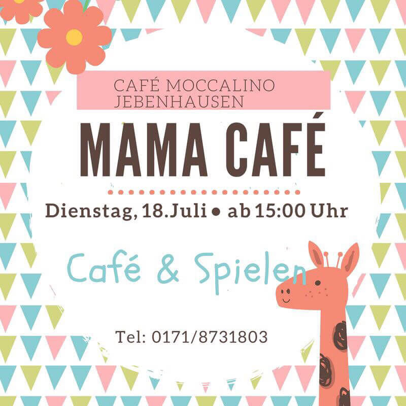 Mama-Café am 18. Juli 2017