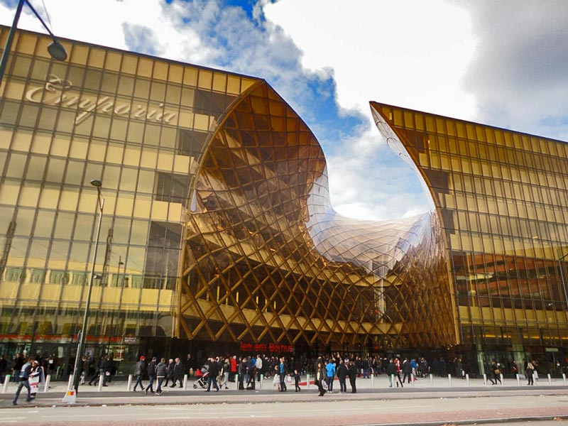 EMPORIA IN MALMO SWEDEN  BY Wingrdhs Architects VIDEO