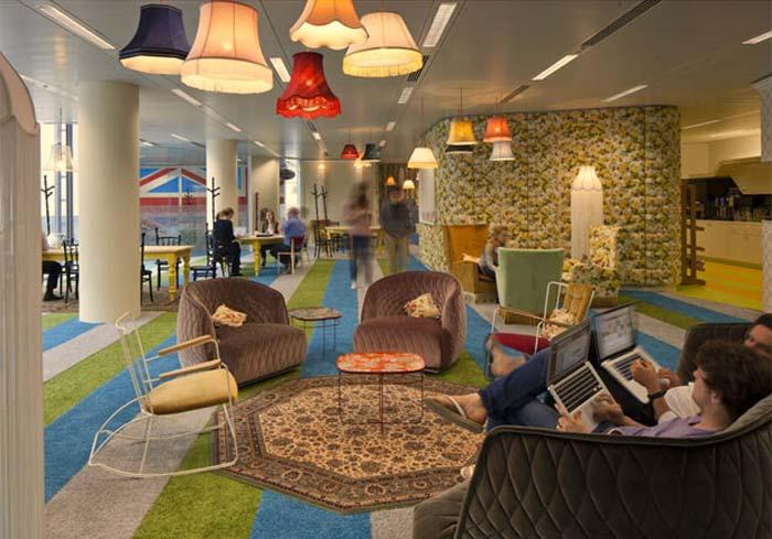 Googles London Headquarter by Penson Group
