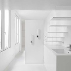 Kitchen Fluorescent Light Wood Stoves For Sale Micro Parisian Studio Apartment Uses Artificial Lighting ...