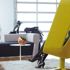 Yellow Office Chair Sciatic Nerve Pillow Windowseat Lounge By Mike And Maaike For Haworth | Jebiga Design & Lifestyle