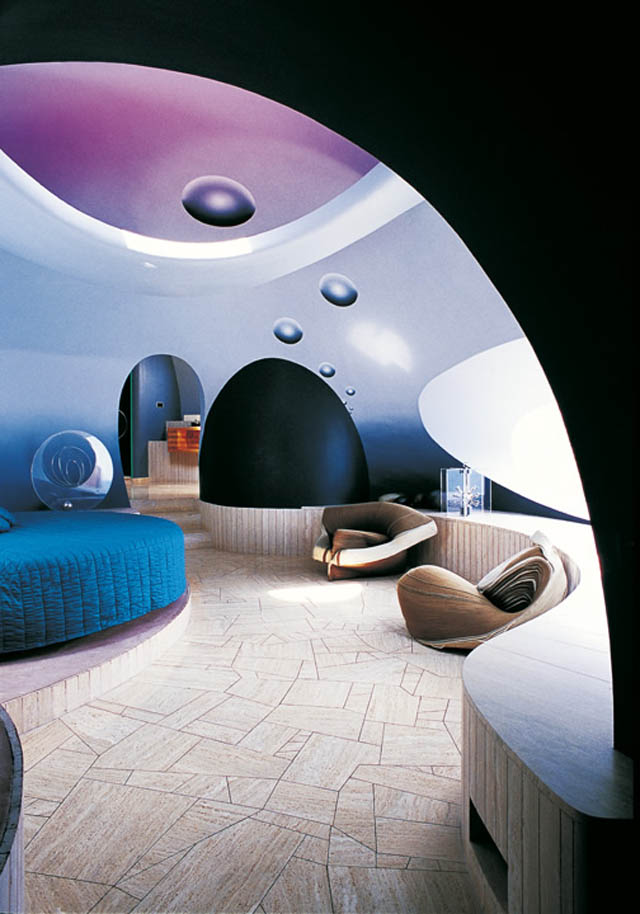 Palais Bulles Pierre Cardins Bubble House by Antti