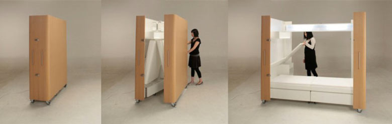 KENCHIKUKAGU FOLDABLE ROOMS BY TOSHIHIKO SUZUKI Jebiga