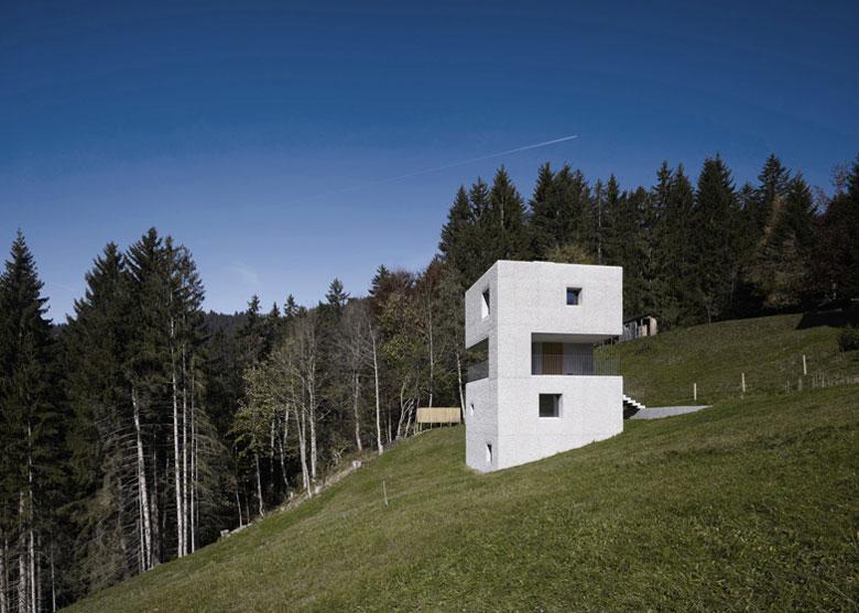 Mountain Cabin in Voralberg Austria by MarteMarte