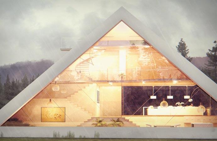 PYRAMID HOUSE Jebiga Design Amp Lifestyle