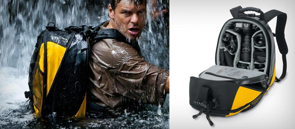 DRYZONE WATERPROOF CAMERA BACKPACK  BY LOWEPRO