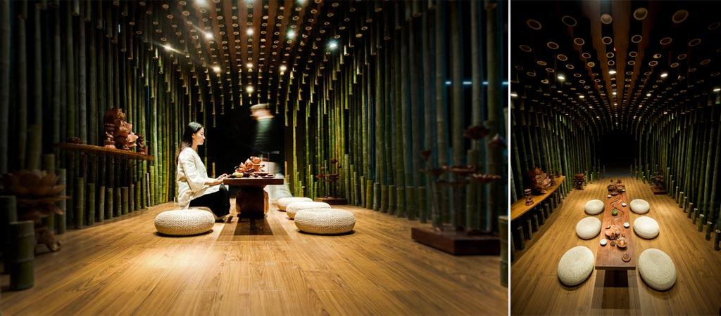 LOTUS AND BAMBOO TEA ROOM  Jebiga Design  Lifestyle