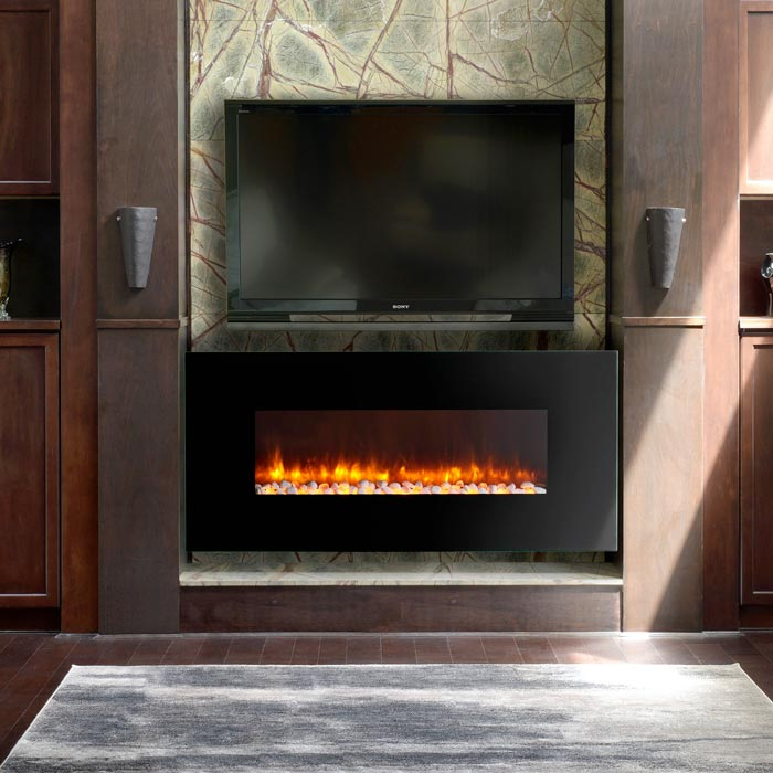 LED WALL MOUNTED ELECTRIC FIREPLACES  BY DYNASTY  Jebiga Design  Lifestyle