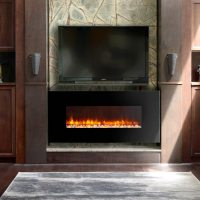 LED WALL MOUNTED ELECTRIC FIREPLACES | BY DYNASTY | Jebiga ...