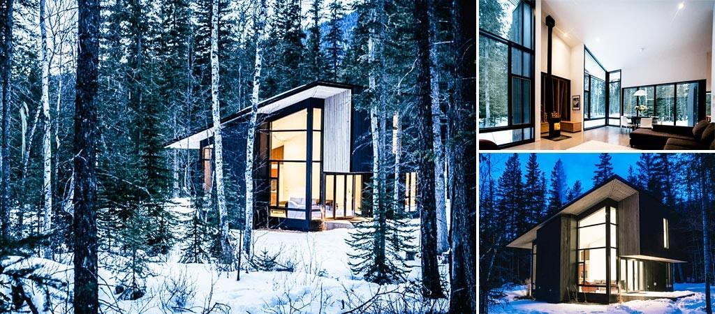 Airbnb Of The Week Modern Cabin Retreat In British