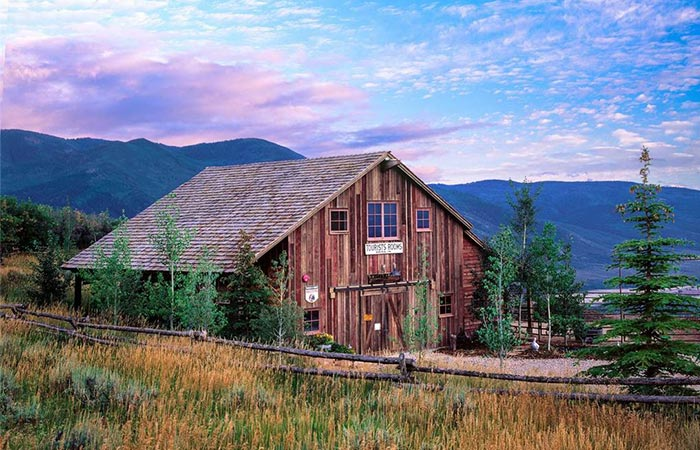 Sunset Ranch In The Uinta Mountains Tributes The American