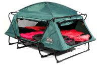 KampRite Double TentCot | An Elevated Double Tent