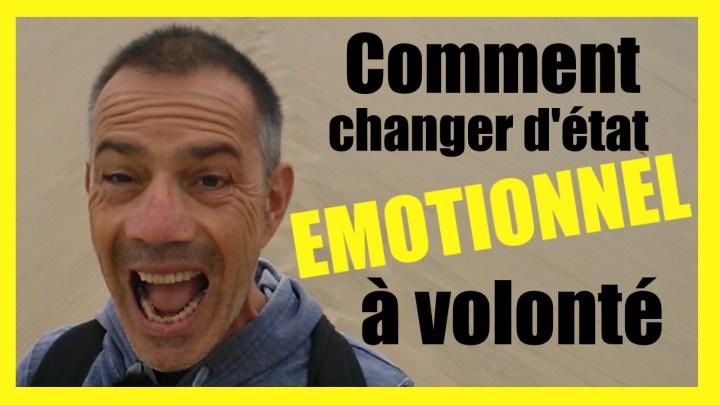 Les émotions font le relief de la vie et c'est normal de les vivre toutes. Le problème, c'est quand on reste bloqué(e) dans une émotion. Cette vidéo présente une technique simple et efficace qui permet d'apprendre à changer d'état émotionnel en un instant et reprendre ainsi le contrôle sur ses émotions.