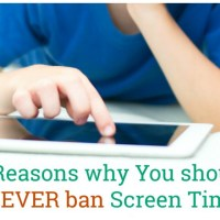 5 Reasons Why You Should Not Ban Screen Time For Your Child