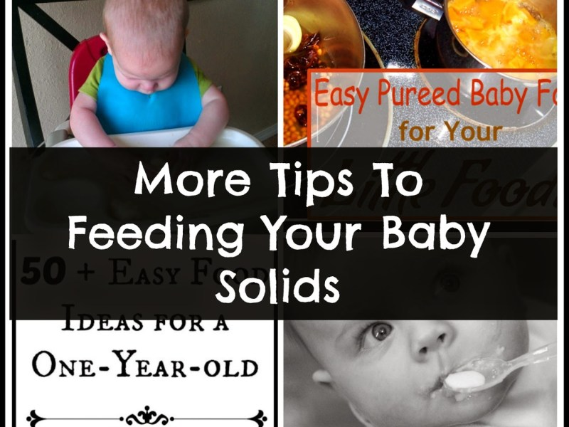 feeding your baby solids