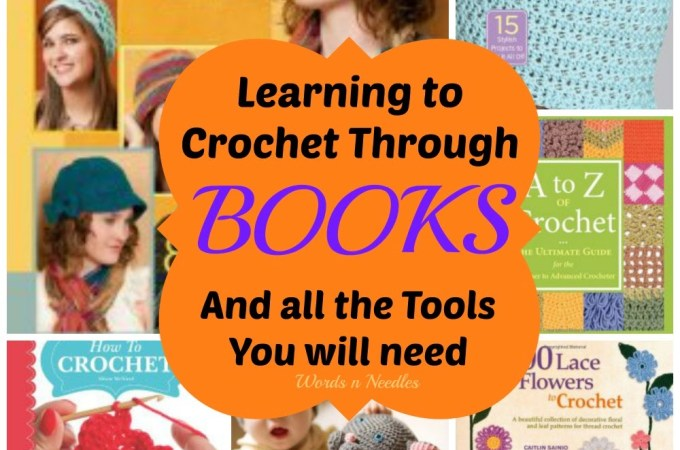 learning crochet through books