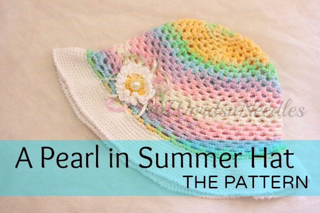 a pearl in summer hat free pattern