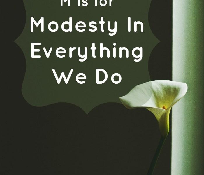 teaching modesty for children atozofakhlaaq