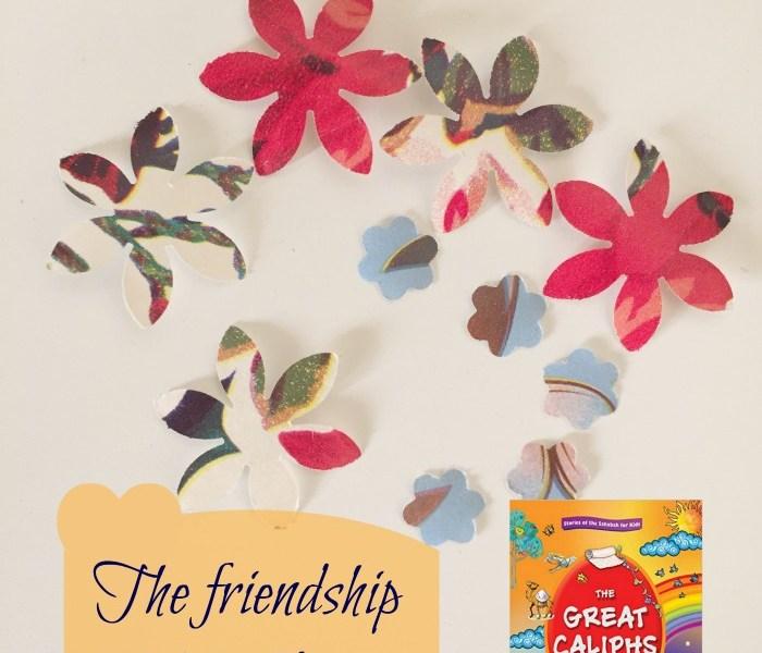 f is for friendship of abu bakr ramadan activity atoz of akhlaaq series