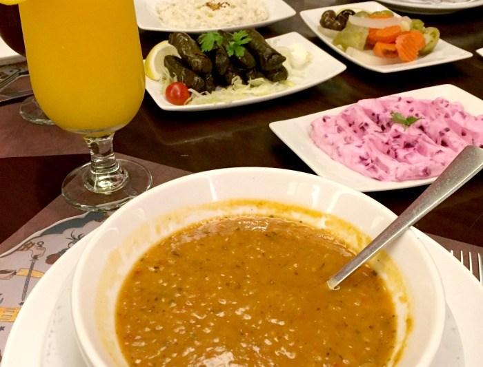 Lentil Soup and Mezze Kosebasi Restaurant Jeddah