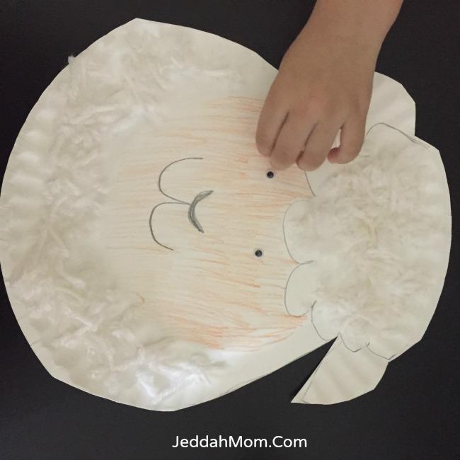Hajj crafts for children Sheep