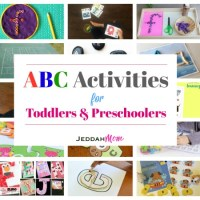 The Giant list of ABC Activities for Toddlers and Preschoolers