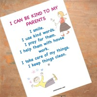 Kindness to Parents- Teaching Children How To be Kind to Their Parents