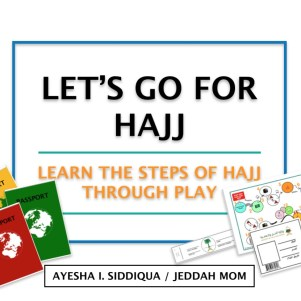 LET US GO FOR HAJJ ACTIVITY PLAY PACK