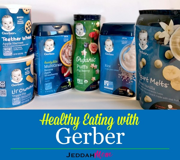Healthy eating tips with Gerber JeddahMom
