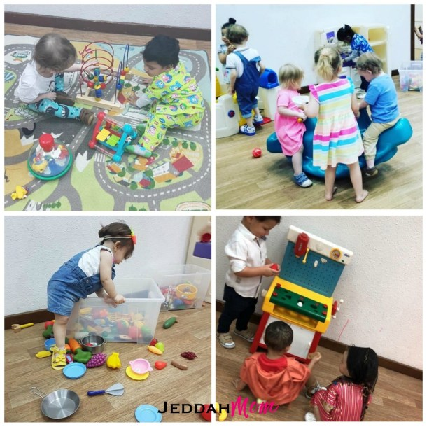 free play at Village tots in jeddah playgroup jeddahmom