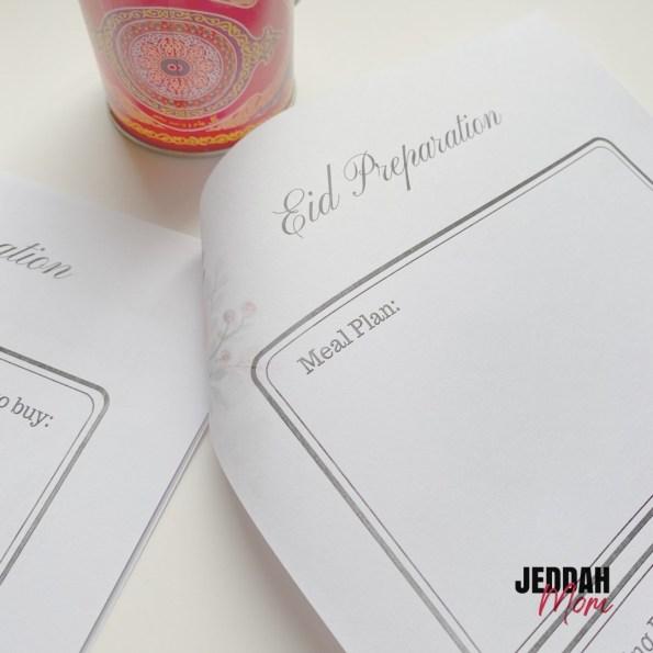 Eid and Ramadan Planner Jeddah Mom