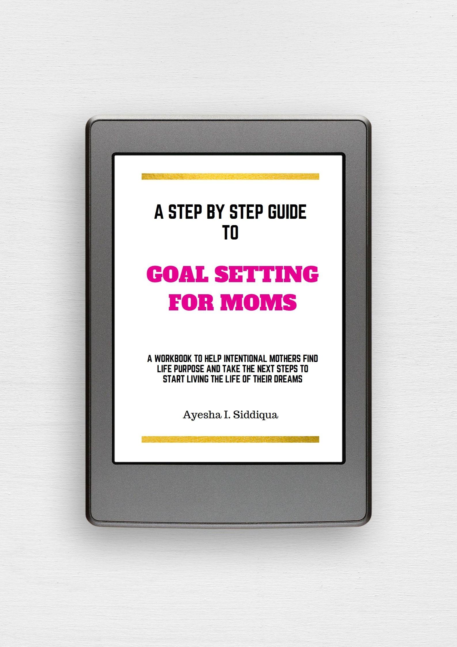 Goal Setting Workbook for Moms JeddahMom