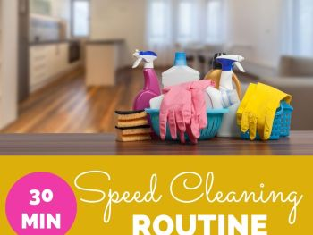 30min Speed Cleaning Routine JM