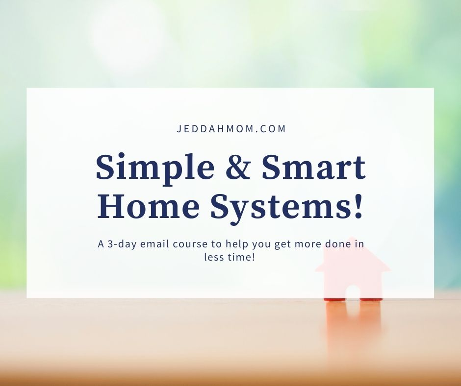 Create smart home system routine  JeddahMom
