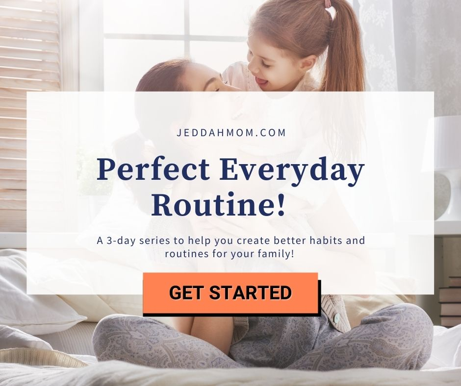 Mini everyday routine course jeddahmom