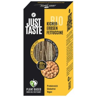 Bio Kichererbsen Fettuccine Just Taste