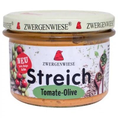 Bio Tomaten-Oliven Streich Zwergenwiese