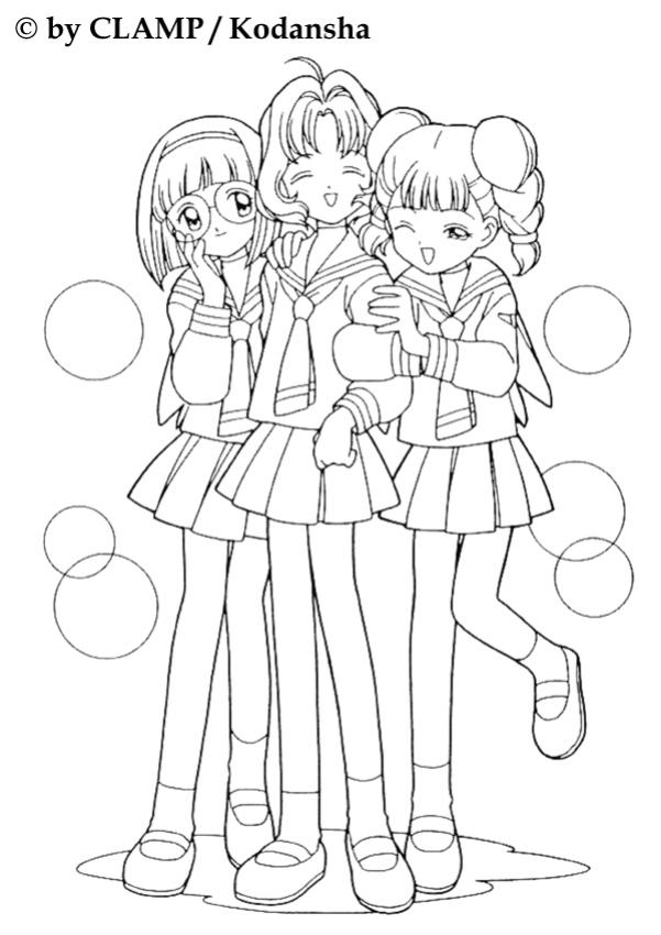 manga fille facile a dessiner