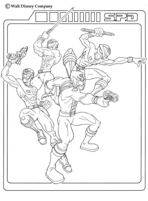 Megazord Power Ranger Drawing