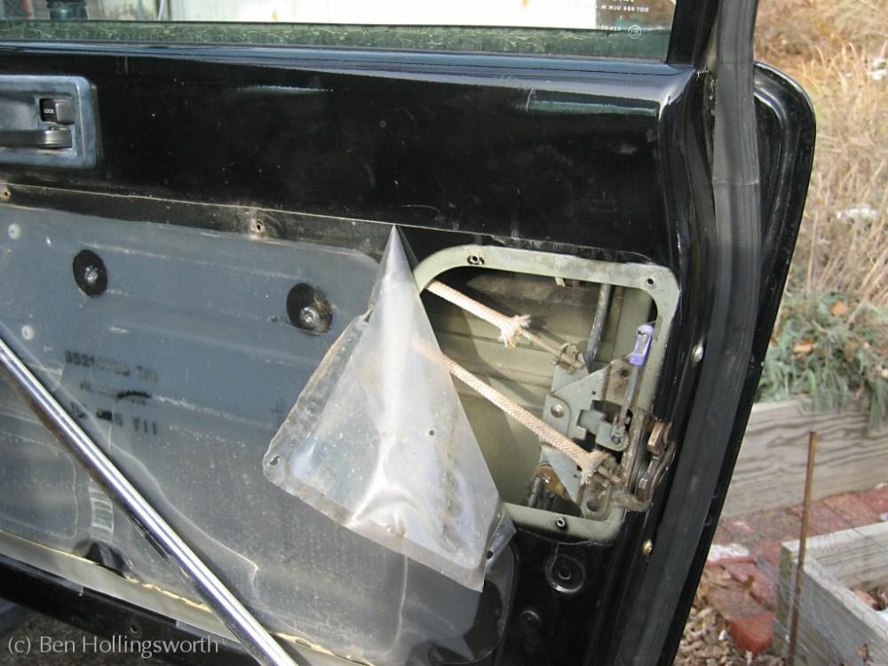 medium resolution of yj door lock fix jeep yj door panel removal jeep yj door panel diagram