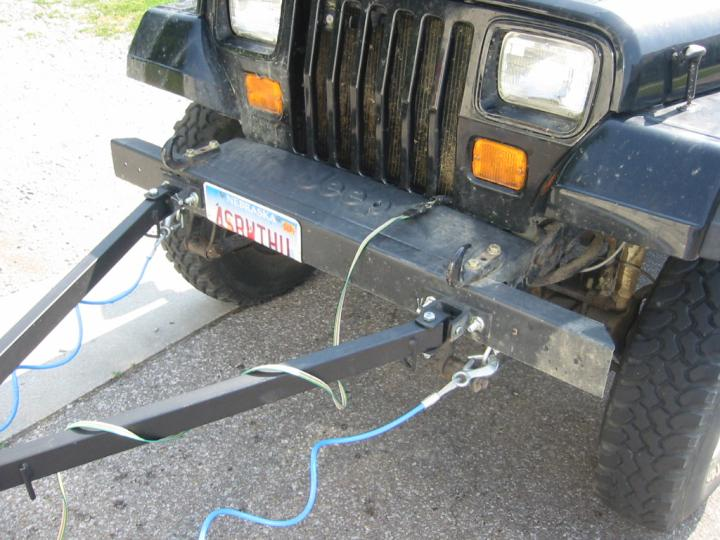 Light Wiring Diagram Motorhome Towing A Car With A Tow Bar Wiring