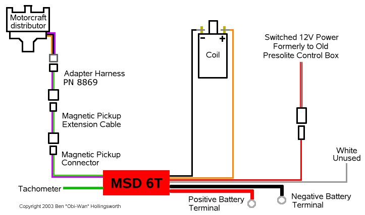 Msd 8860 Wiring Harness Diagram