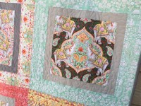 Free Quilt Patterns For Large Print Fabric ~ cafca. info for
