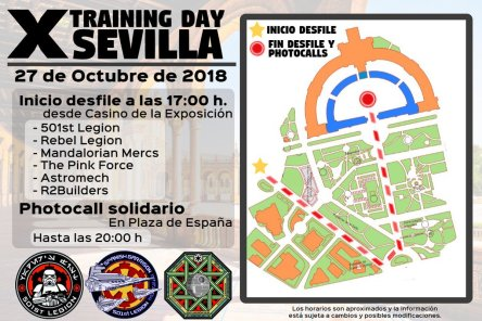 Training Day Seville Map