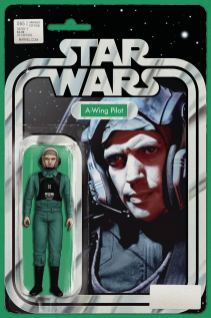 Cover B - JTC Action Figure (A-Wing Pilot)