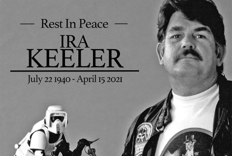 Retired ILM Model Maker Ira Keeler Has Passed Away, Aged 80 - Jedi News