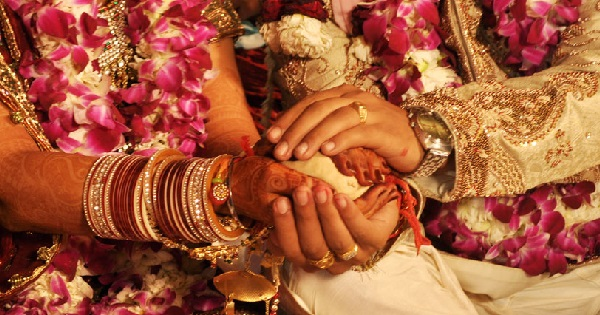 why bride sits on the left side of the groom in indian marriage ceremony