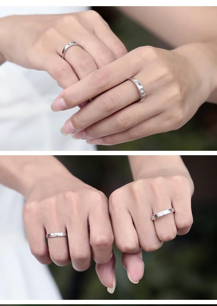 Delightful Marriage Rings Diamond on Gold  JeenJewels